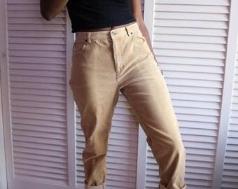 Vintage Blonde Corduroy Pants