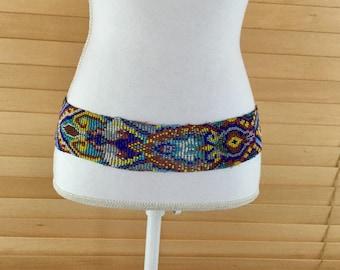 Vintage Seed Bead Belt