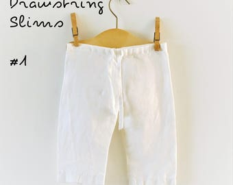Digital Sewing Pattern: Baby/Toddler Slim Drawstring Pants