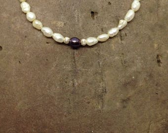 Natural Fresh Water Pearl bracelet, classic pearl bracelet,