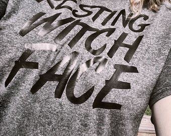 Resting Witch Face - Halloween T-Shirt!