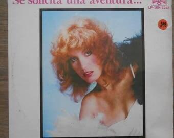Lila Deneken UNPLAYED/Partially SEALED Record So Solicita una Aventura... LP-16H-5241 Album Lp 1980s Inv-14