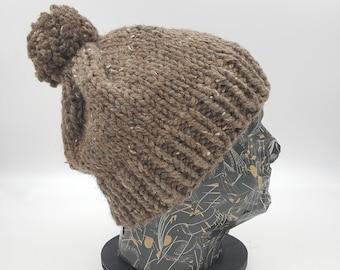 Pom Pom Beanie, Winter Hat, Hat for Women, Hat for Men, Acrylic Hat, Wool Hat, Pom Pom Hat, Chunky Beanie, Bobble Hat, Pom Beanie