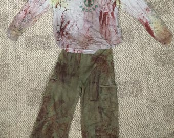 Zombie Soccer Shirt and Pants Kids size 5/6