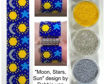 Moon, Stars, Sun Bracelet