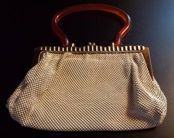 Hold for Annie Whiting and Davis Mesh Purse
