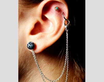 Ear Chain Cartilage Jewelry