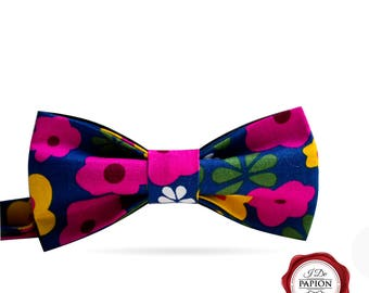 Floral bow tie / colorful bow tie / women's bow tie