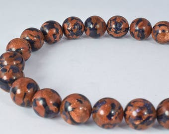 14mm Sandstone Round Beads, Sold by 1 strand of 25pcs, 2mm hole opening, 137.2grams/pk