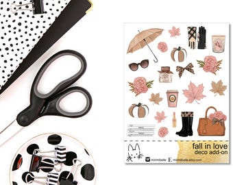 Fall In Love Add-On Sticker!