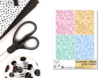 Summer Vibes - ADD-ON Glitter - for your ECLP