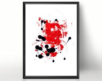 Abstract Art Modern Art Print Instant Download Printable Art Abstract Painting Printable Abstract Art Minimalist Art  Contemporary Wall Art