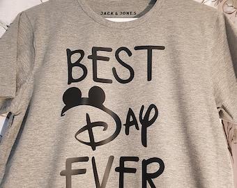 Best Day Ever! Tangled Inspired Disney Tshirt