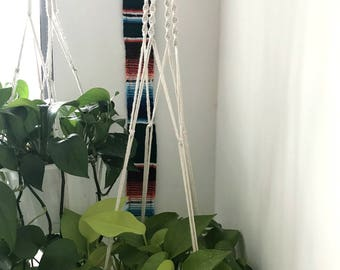 Handmade macrame plant hangers! Made to order!