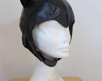 Catwoman (Selina Kyle) Faux Leather Cowl, DC Comics