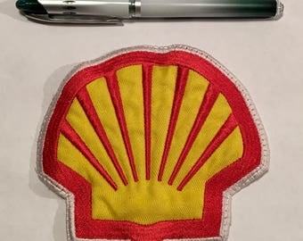 Large Shell Gas Station Patch