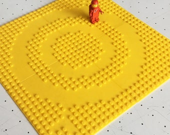 LEGO Compatible Crop Circle Baseplates | 3D printed set of 4