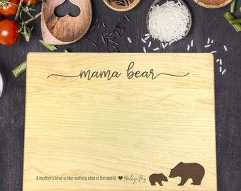 Mothers Day Gift, Gift for Mom, Gift for Her, Cutting Boards, Engraved Cutting Board, Gift for Aunt, Gift for Bride, Gift for Friend, B-0096