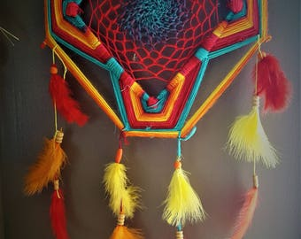 dream catcher wall