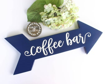 Coffee Bar Sign - Coffee Sign - Kitchen Wall Decor - Gift for Coffee Lover - Kitchen Decor - Coffee Decor