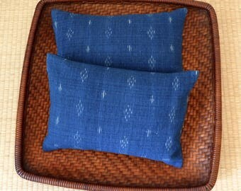 A Set of Two Organic Buckwheat Hull Travel/Support Cushions - SC6
