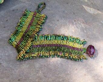 Iridescent Zulu Bracelet