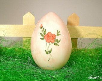 Ceramic egg, easter egg, easter ornament, easter ceramics, easter table decor, easter gift, egg decor, easter basket decor, egg ornament.