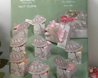 Hallmark Vintage Shower Themed Nut Cups