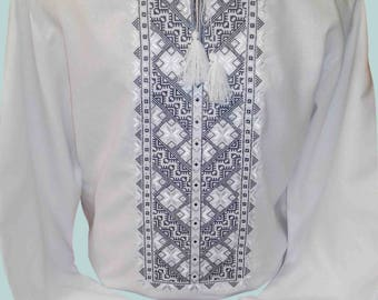Vyshyvanka for men / Ukrainian shirt / shirt men / Made in Ukraine / Vyshivanka / Vishivanka / mens gift / ukranian