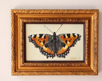 Butterfly original oil painting