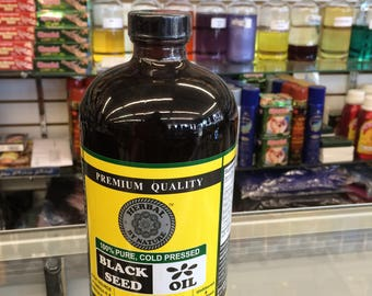 32 Fl.oz 100% Pure Black Seed Oil Cold Pressed - 'The Remedy For Everything But Death' /Fast & Free Shipping