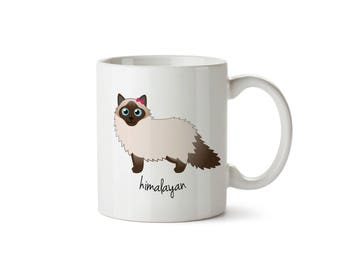 Himalayan Cat Mug (girl)