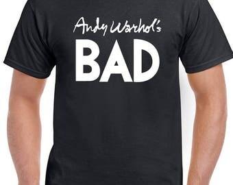 As Worn By Blondie - Andy Warhol's Bad - Mens T-Shirt 1563