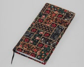 2018 Slim Pocket Diary Hand Covered in a dark vintage floral fabric