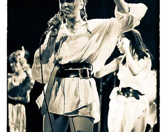 BOW WOW WOW , Annabella Lwin . Mountford Hall Liverpool 28th October 1981 © gary lornie photography.