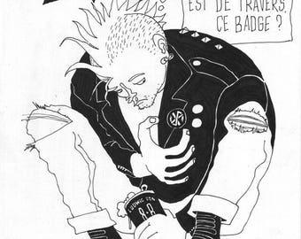 Chaos: drama at punks