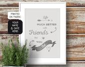 Personalized friendship q...