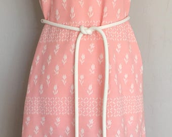 Vintage 1960s James Kenrob Sheath Dress Madmen * Jackie O * Mod * Small - Medium
