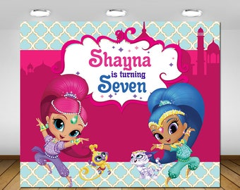 Shimmer And Shine Etsy