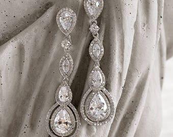 Cubic Zirconia Earrings  #125963