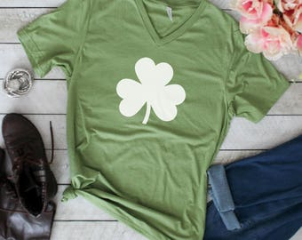 Shamrock Shirt, Womens St. Patrick Shirt, Irish Shirt, St. Patrick's Day Shirt for Women, Green Shirt