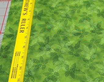 Fusions-Garden-Green Leaves Cotton Fabric from Robert Kaufman Fabrics