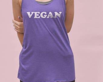 Vegan Tank Top - vegan training tank, vegan gym tank, womens vegan tshirt, womens gymwear, womens workout top, vegan workout shirt