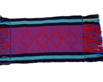 Mapuche weave (Red, blue, black)