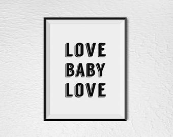 "Love Baby Love - 8"" x 10"" - Digital Download"