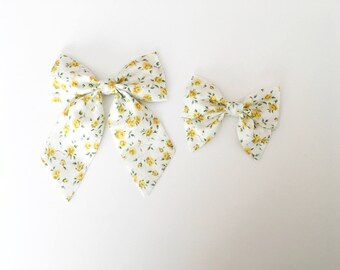 Aria Floral Sailor Bow
