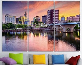 Hartford Art Connecticut Hartford Wall Art Hartford Skyline Hartford Wall Decor  Hartford Print Hartford Home Decor