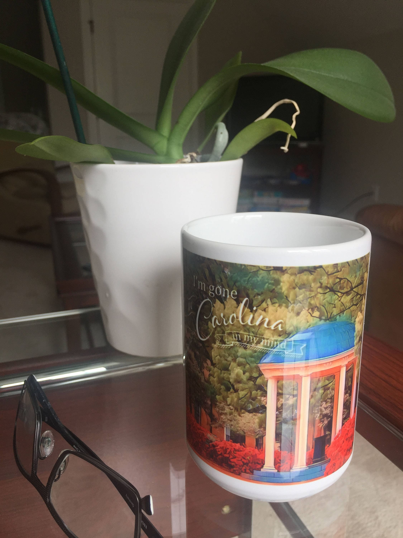 Carolina S Cake Design Store Frosinone : UNC Chapel Hill Old Well Tar-heels coffee mug James Taylor ...