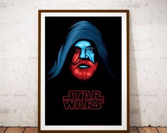 Luke Skywalker - The Last Jedi Poster