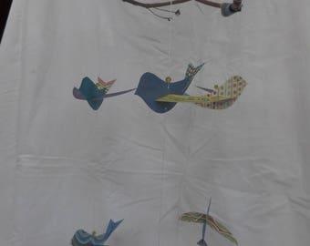Whimsical Bird Mobile